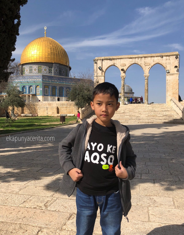 Ke Masjidil Aqso? Jangan Ragu, Insyaa Allah Aman…